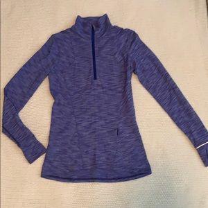 Lululemon blue half zip jacket
